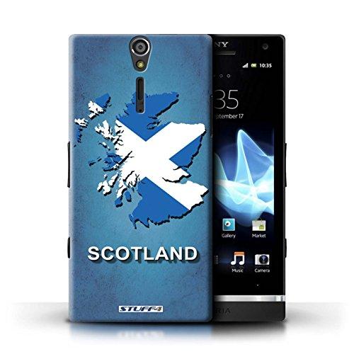 Kobalt® Imprimé Etui / Coque pour Sony Xperia S/LT26i / grande-Bretagne conception / Série Drapeau Pays Ecosse/écossaise