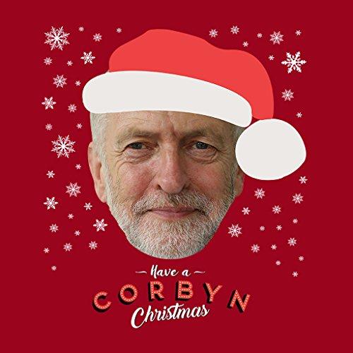 Jeremy Corbyn Have A Corbyn Christmas Women's Sweatshirt Cherry Red