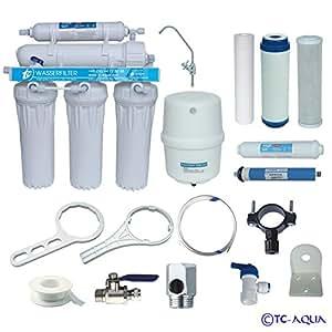 aquamarin ro waterfilter 5 filtre eau osmose inverse animalerie. Black Bedroom Furniture Sets. Home Design Ideas