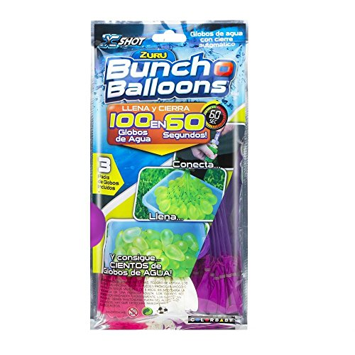 X-SHOT - PACK DE 105 GLOBOS  BUNCH O BALLOONS (COLORBABY 42717)
