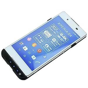 mondpalast @ Noir Coque batterie 3500mah Chargeur Etui housse rechargeable pour Sony Xperia Z3+ Z3 plus Z3 + Z 3 +