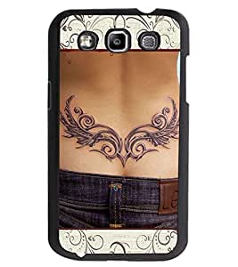 ColourCraft Awesome Tatto Design Back Case Cover for SAMSUNG GALAXY GRAND QUATTRO I8552 / WIN I8550