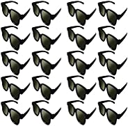 Lot of 20x RealD Technology 3D Polarized Glasses for TV/Movies/Cinema/HD