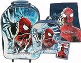 Marvel Spiderman 2 Amazing Spiderman Luggage Set