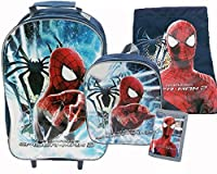 Marvel Spiderman 2 Amazing Spiderman Luggage Set