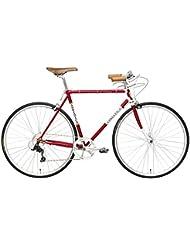 "Bicicleta Cicli Adriatica 1946 hombre cuadro de acero 28"" 8 velocidades"