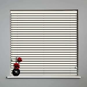 Jalousie, Holz, 1950 mm x 1300 mm, 25, 35 &50 mm, Maßanfertigung, Holz, Rollladen Polar White