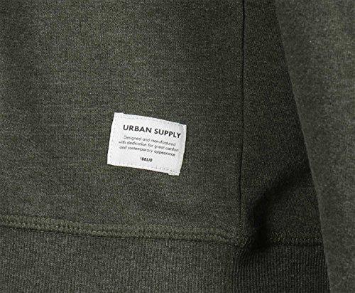 !Solid Herren Sweatshirt Sweat - Garon Braun (Rosin Melange 3400M Rosini)