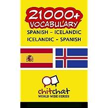 21000+ Español - Islandés Islandés - Español vocabulario