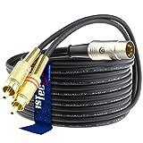 5-polig auf Cinch RCA - DIN 10 Metre