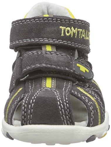 TOM TAILOR Kids Tom Tailor Kinderschuhe Baby Jungen Lauflernschuhe Grau (grey-yellow) X29fG70Kt