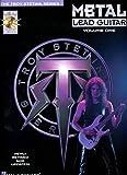 Metal Lead Guitar Method (Revised) Volume 1 Tab Book/Cd