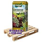 Gärtnertorf PLANTOP 18 Sack mit je 70 Liter = 1260 Liter Torf