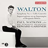 Walton: Improvisations on an Impromptu of Benjamin Britten, Cello Concerto & Symphony No. 2