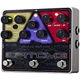 electro-harmonix Epitome Epitome Pedal - Pedal multiefecto para guitarra, color plateado