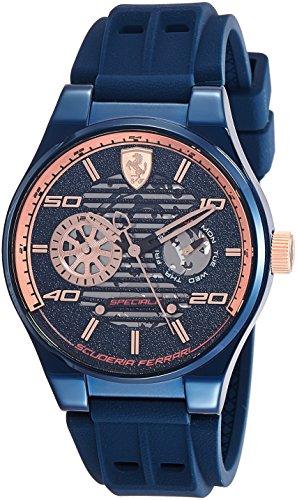 Scuderia Ferrari Speciale Analog Blue Dial Men's Watch-0830459