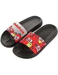 056ec8f6d2d80 LACOFIA Pantofole da Doccia Antiscivolo per Donna e Uomo Scarpe estive da  Spiaggia e Piscina Ciabatte