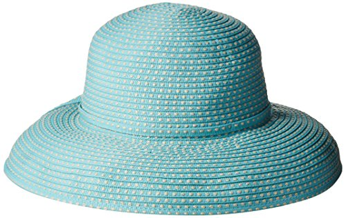 san-diego-hat-company-womens-4-inch-brim-ribbon-kettle-sun-hat-teal-one-size