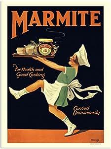 RetroArt Marmite, Vintage Advert from 1920s (30x40cm Art Print)