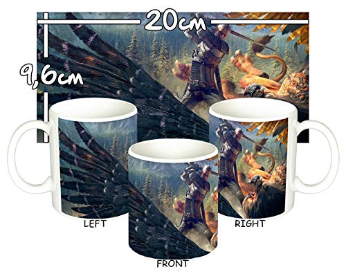 MasTazas The Witcher 3 Wild Hunt Witcher Griffin Taza Mug