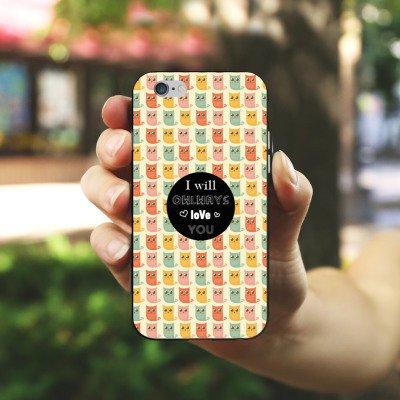 Apple iPhone X Silikon Hülle Case Schutzhülle Valentinstag Geschenk Geschenkidee Silikon Case schwarz / weiß