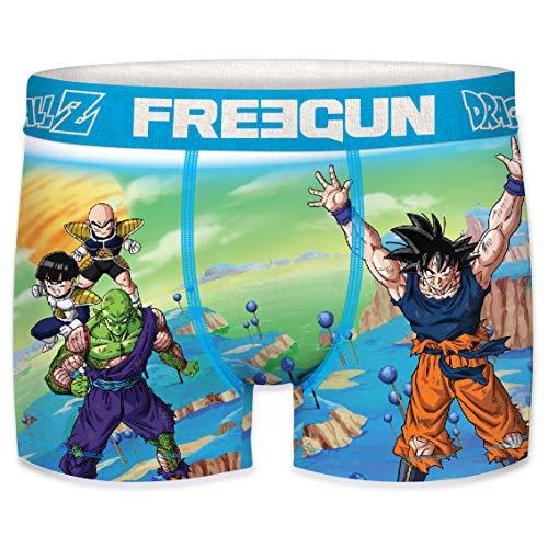 FREEGUN Bóxer para Hombre Dragon Ball Z Genkidama