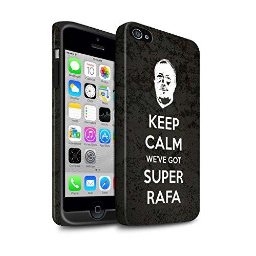 Offiziell Newcastle United FC Hülle / Matte Harten Stoßfest Case für Apple iPhone 4/4S / Pack 8pcs Muster / NUFC Rafa Benítez Kollektion Ruhig Bleiben
