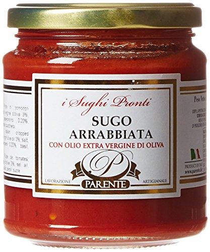 Parente Sauce Tomate Arrabbiata 280 g - Lot de 3