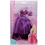 Simba Steffi Love Fashion Boutique Glamour Kleidung Kleid Ballkleider für 29cm Puppen Abendkleid, Farbe:Violett