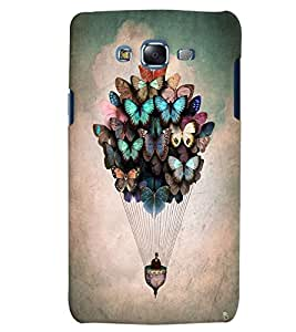 Citydreamz Colorful Butterflies Abstract Balloon Hard Polycarbonate Designer Back Case Cover For Samsung Galaxy Grand Prime G530H/G531H