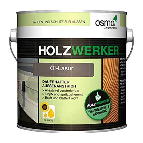 OSMO HOLZWERKER OEL-LASUR - 2.5 LTR (H-905 PATINA)
