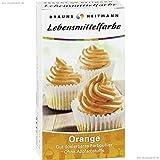 Brauns Heitmann Lebensmittelfarbe Orange