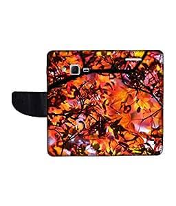 KolorEdge Printed Flip Cover For Samsung Galaxy Win 2 Multicolor - (1476-45KeMLogo10558SamWin2)