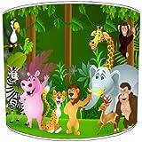 Premier Lighting Zoo Jungle Animals Abat-Jour pour Enfants - 8 inch pour Un plafonnier