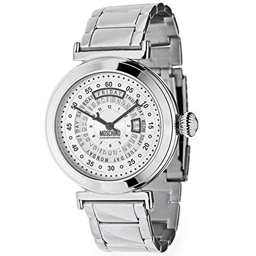 Montre  Moschino Quartz - Affichage analogique bracelet Acier Inoxydable  et Cadran  MW0344