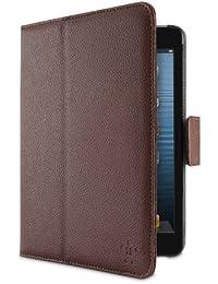 Belkin F7N018vfC01 Housse folio cuir haut de gamme marron pour iPad mini et iPad mini 2 Retina