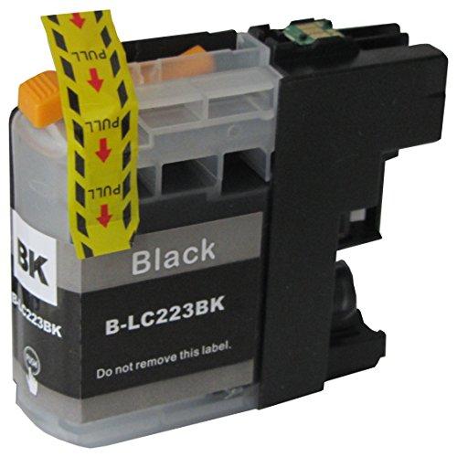 Preisvergleich Produktbild 1 schwarze komp. XL Druckerpatronen mit Chip für Brother LC223 LC225 LC227 Black / Brother DCP J4120DW / MFC J 4420DW 4620DW 4625DW 5320DW 5620DW 5625DW 5720DW