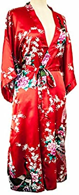 CC Collections Kimono 16 colours free 1st class UK shipping dressing gown robe sexy lingerie night wear dress bridesmaid hen night