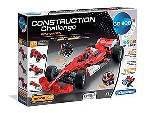 Clementoni 59073Construction Challenge-Grand Prix, más Colores