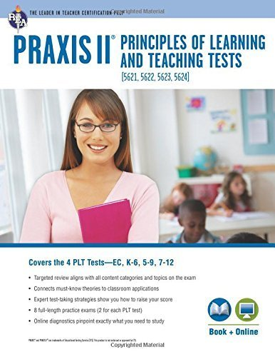 PRAXIS II PLT EC, K-6, 5-9 and 7-12: Book + Online (PRAXIS Teacher Certification Test Prep) Paperback March 3, 2014
