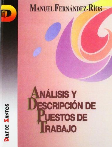 Libro sobre Análisis y descripción de puestos