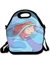 18ad4e47fc90c Ponyo Ponyo auf der Klippe Travel Tote Lunch Tasche