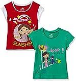 #3: Chhota Bheem Girls' T-Shirt (Pack of 2)