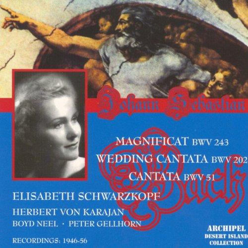 Bach : Magnificat, Cantates (Herbert Von Karajan 1946-1956)