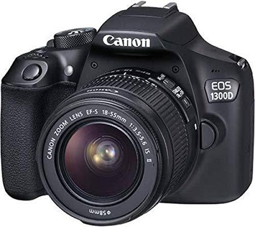 Canon EOS 1300D - Fotocamera Reflex + Obiettivo EF-S 18-55 mm IS...
