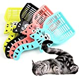 Pets Empire 1PC Cartoon Cat Sand Cleaning Lovely Dogs Food Shovel Litter Scoop Random Color