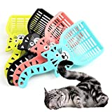 #3: Pets Empire 1PC Cartoon Cat Sand Cleaning Lovely Dogs Food Shovel Litter Scoop Random Color