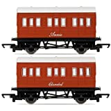 Hornby R9293 Thomas and Friends Annie and Clarabel Coach