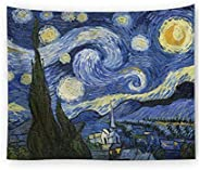 Wall Hanging Wall Tapestry Hippie Galaxy Tapestry Starry Night Tapestry Mandala Bohemian Tapestry Living Room