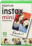 Fujifilm Instax Mini Instant Film, 1x 10 Blatt (10 Blatt), Weiß -